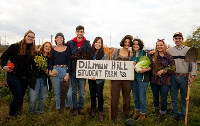 Dilmun Hill Student Farm is celebrating its 20th anniversary on October 29, 1-4 pm