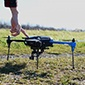 Drone at Musgrave Research Farm